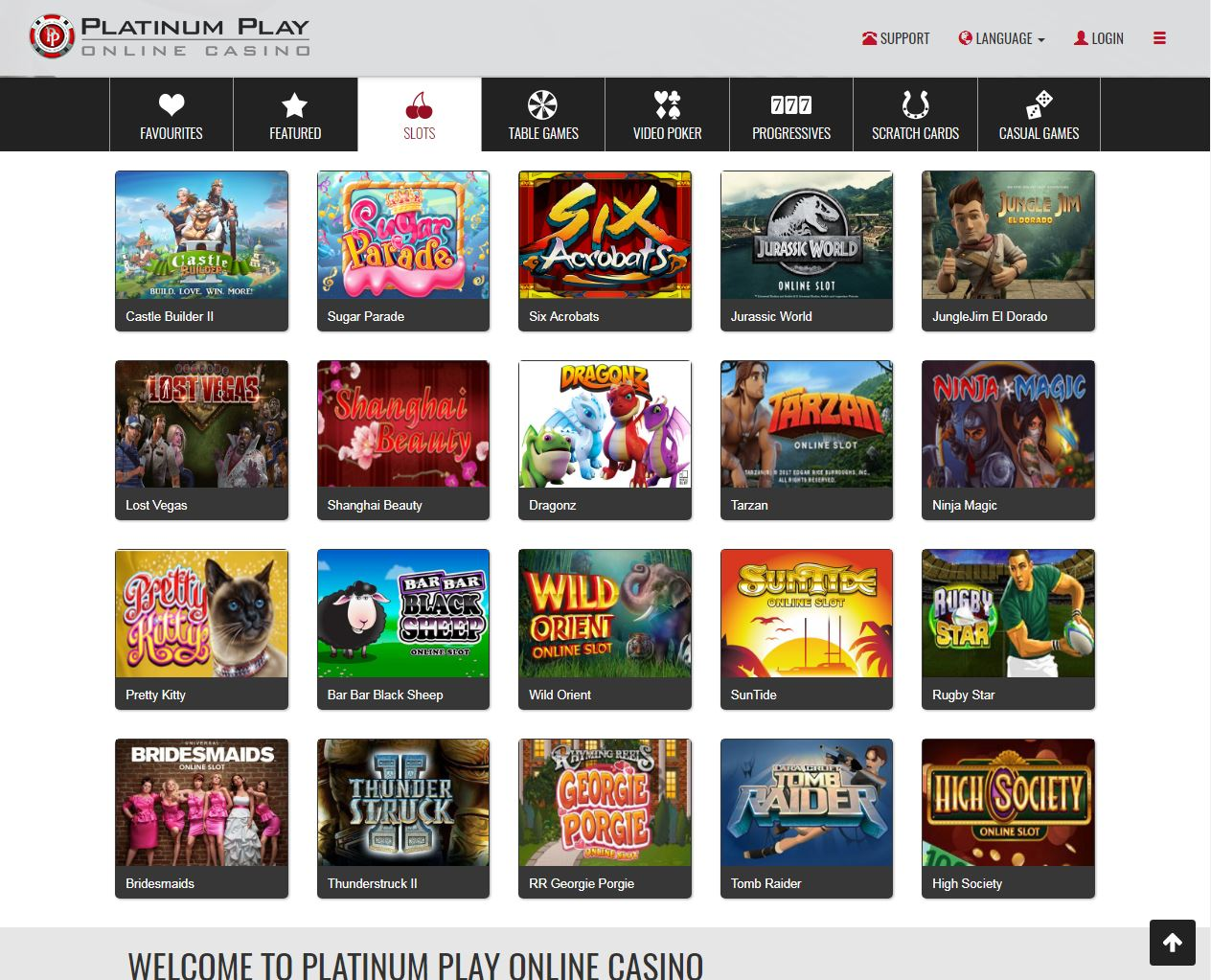 Platinum play casino online chat casino in waveland mississippi